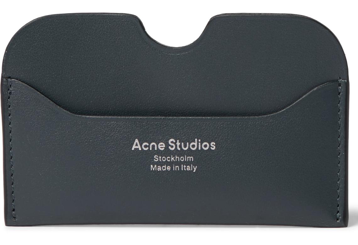Cardholder wallet acne studios