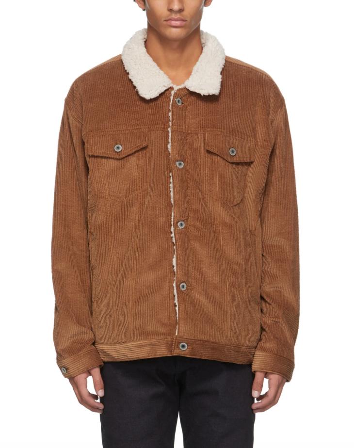corduroy sherpa jacket mens