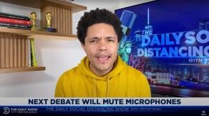 Late-Night Hosts Doubt a Mute Button Will Bring Order to Next Trump, Biden Debate