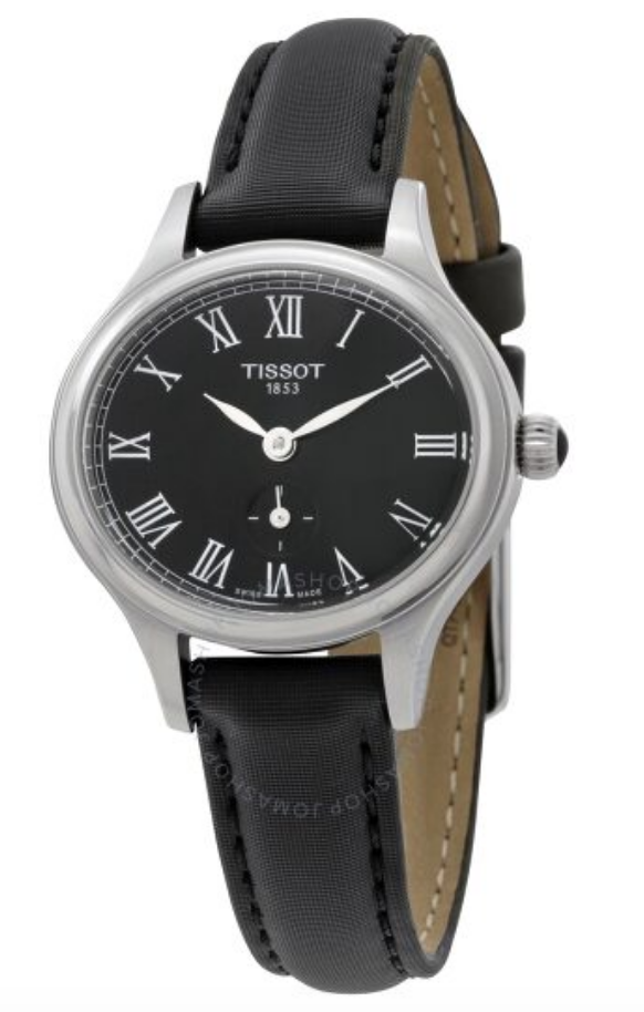 women's watch leather band tissot