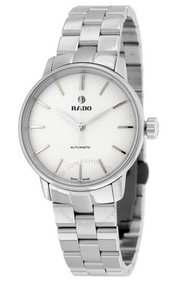 women's watch silver bracelet rado
