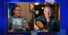 Bruce Springsteen Reflects on 'Letter to You' With Stephen Colbert