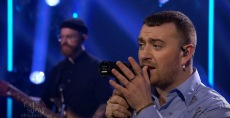 Sam Smith Performs 'Diamonds' and 'Kids Again' on 'Colbert'