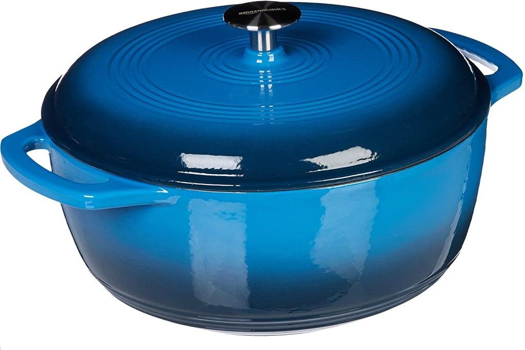 amazon basics enameled dutch oven