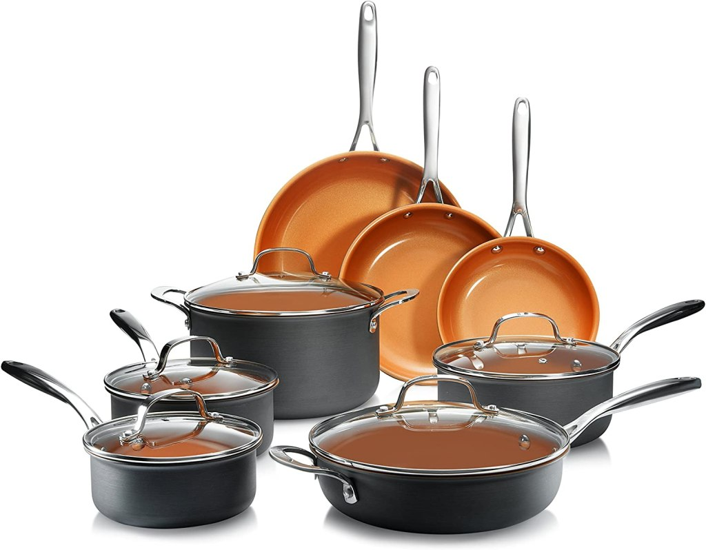 gotham steel anodized nonstick cookware