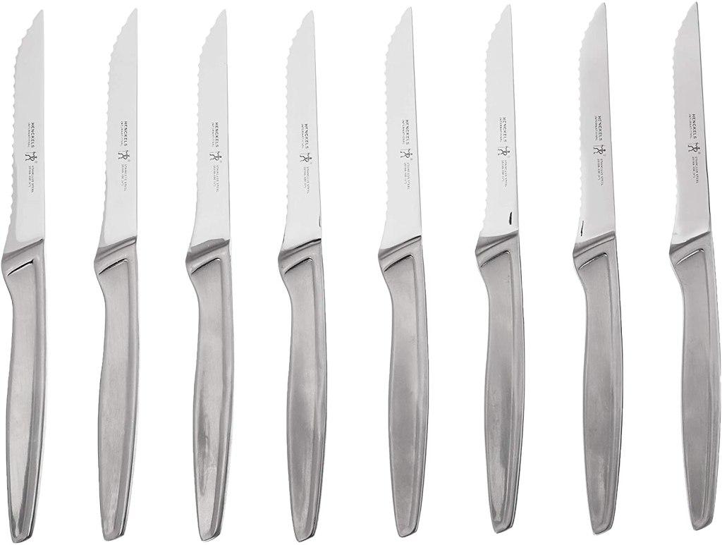 henckels stainless steak knife set