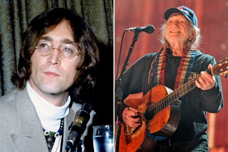 Watch Willie Nelson And Sons Cover John Lennon S Watching The Wheels Rolling Stone