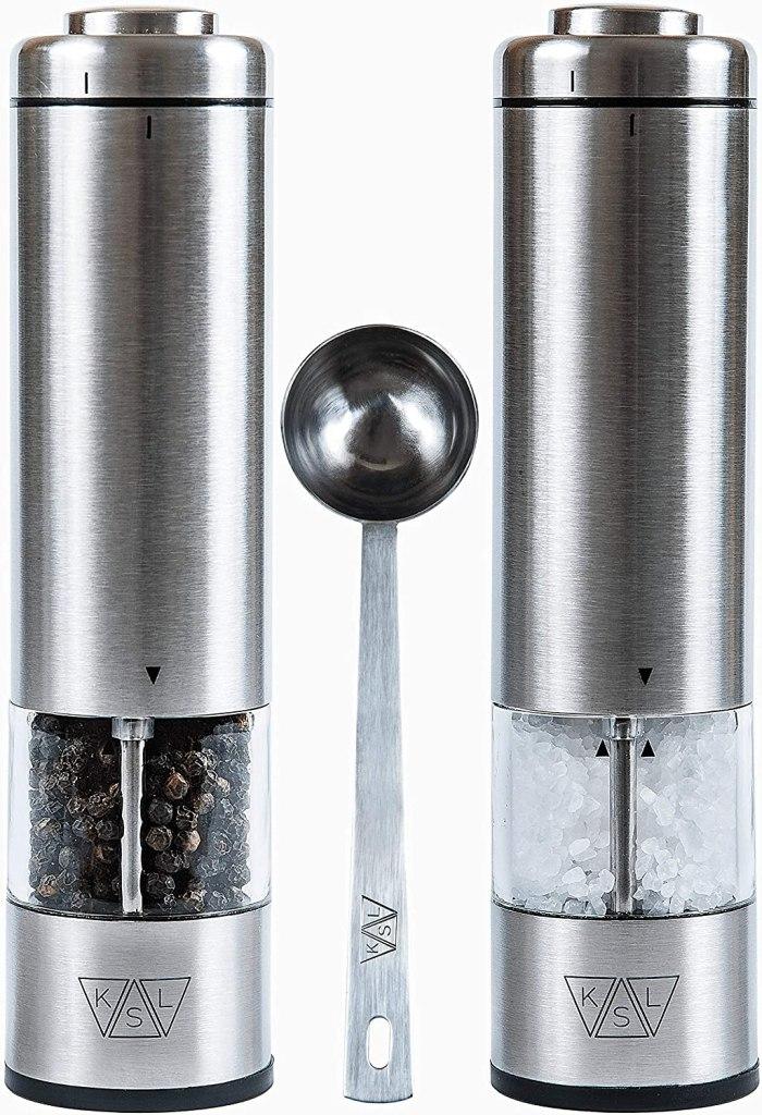 ksl battery electric salt pepper grinder