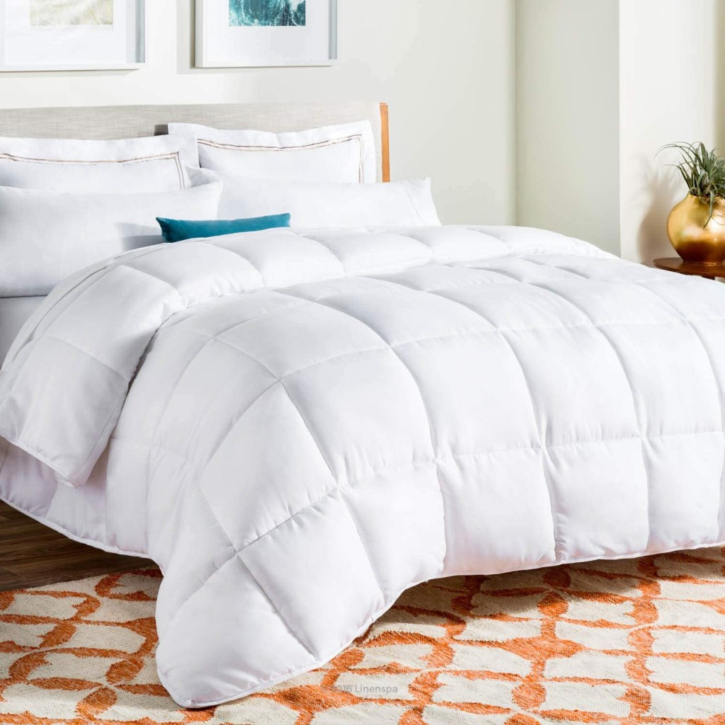 linenspa all season alternative quilted comforter