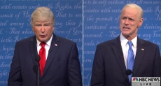 'SNL': Alec Baldwin's Trump and Jim Carrey's Biden Face Off in Final Debate