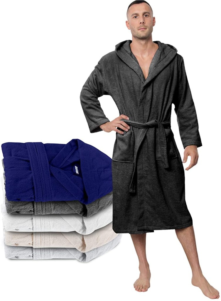 twinzen turkish cotton bathrobe