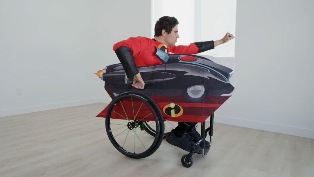 incredible wheelchair costume
