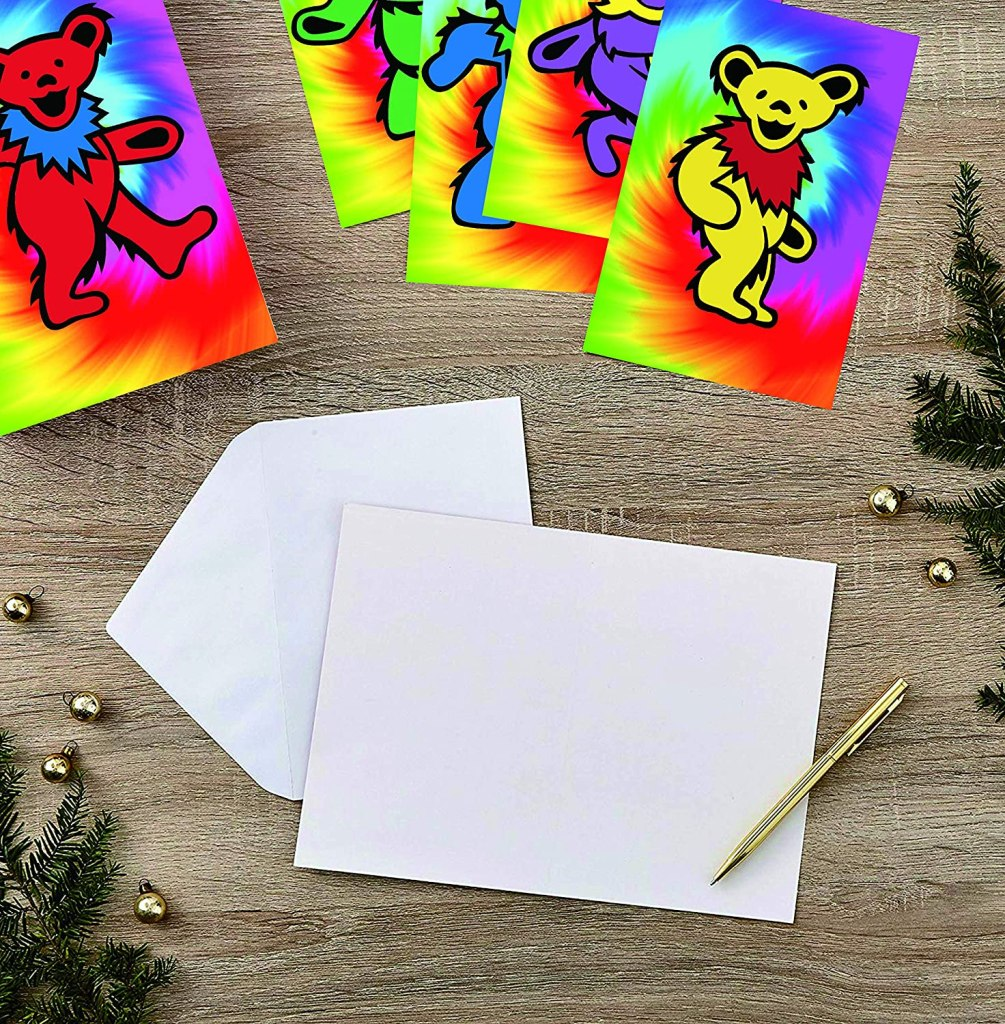 Grateful Dead Thank You Cards