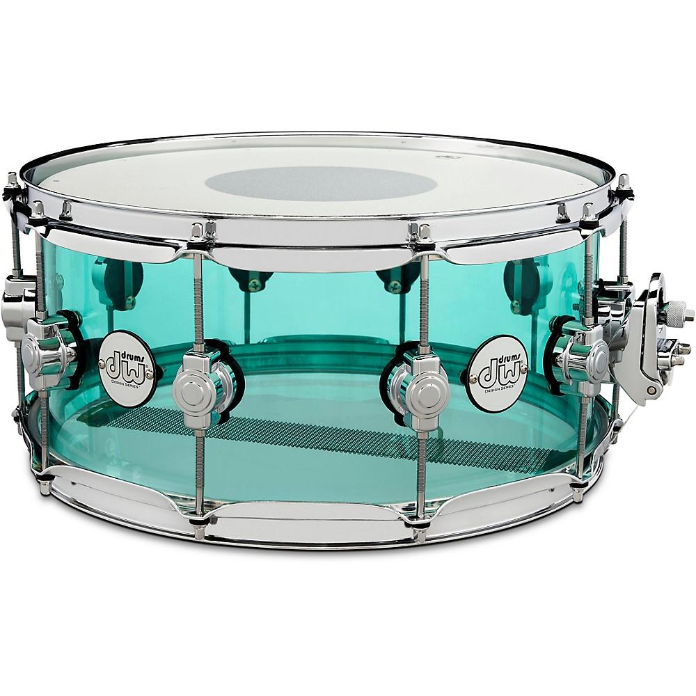 DW Design Series Acrylic Seasglass Snare Drum