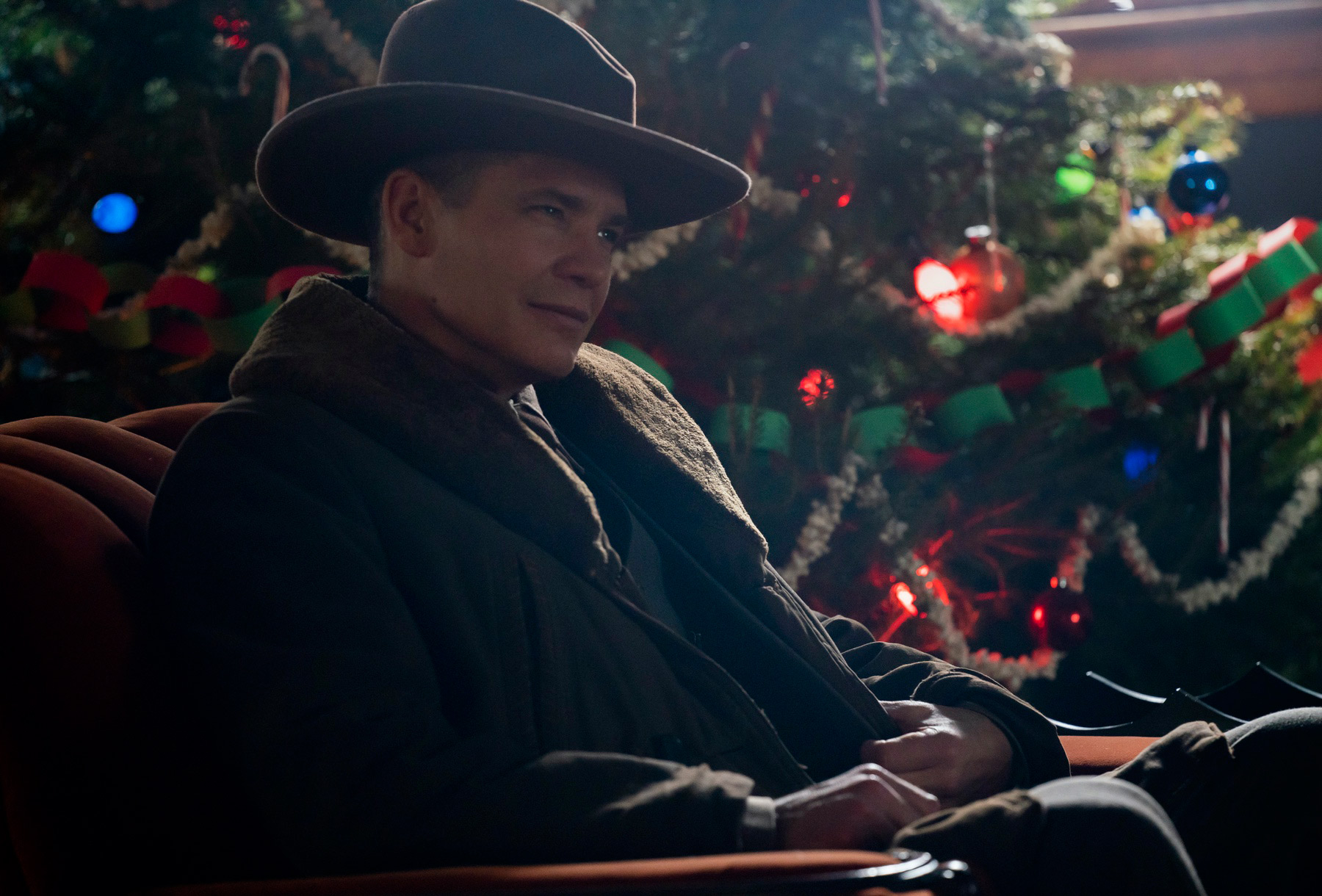 "FARGO -- ""The Nadir"" - Year 4, Episode 8 (Airs November 8) Pictured: Timothy Olyphant as U.S. Marshal Dick ""Deafy"" Wickware. CR: Elizabeth Morris/FX"
