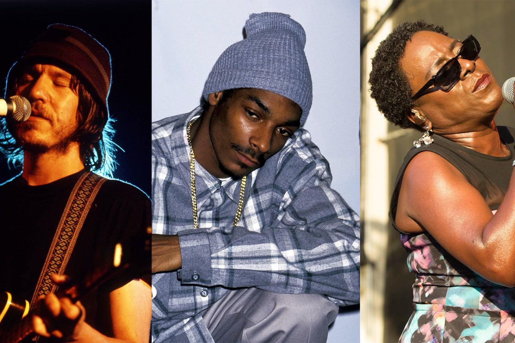 Elliott Smith, Snoop Dogg, Sharon Jones