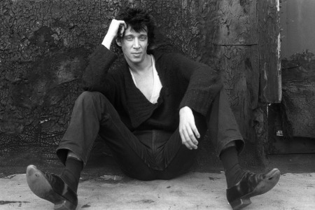 UNITED STATES - JANUARY 01:  Photo of Richard HELL; B&W Posed  (Photo by Peter Noble/Redferns)
