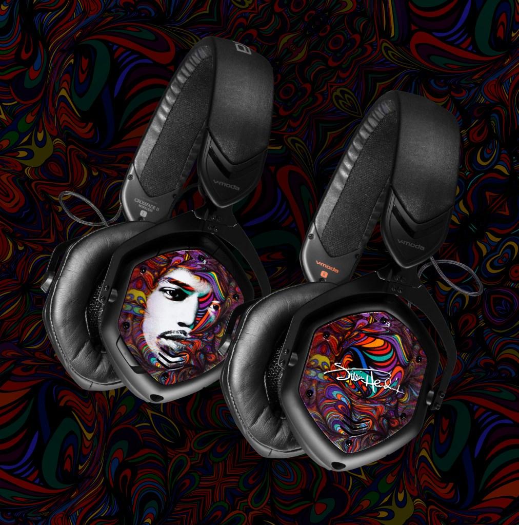 jimi hendrix v-moda headphones