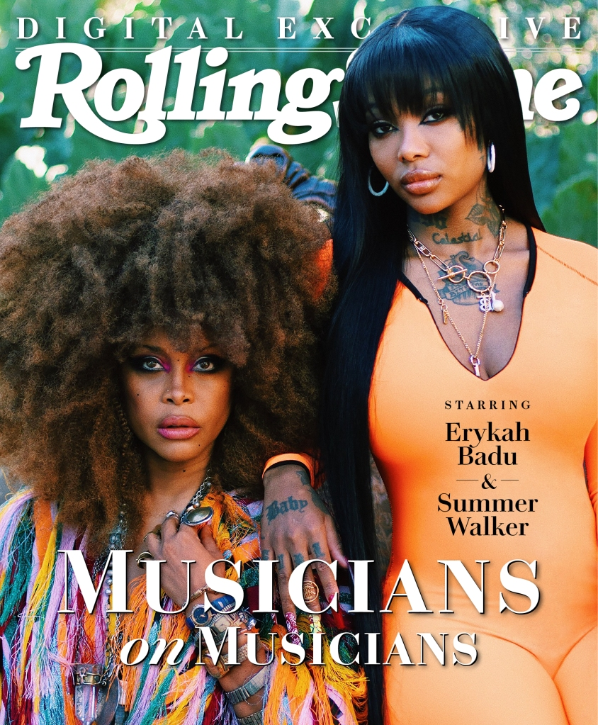 Rolling Stone, Erykah Badu & Summer Walker