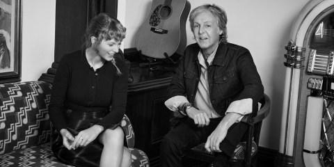 paul mccartney taylor swift musicians on musicians