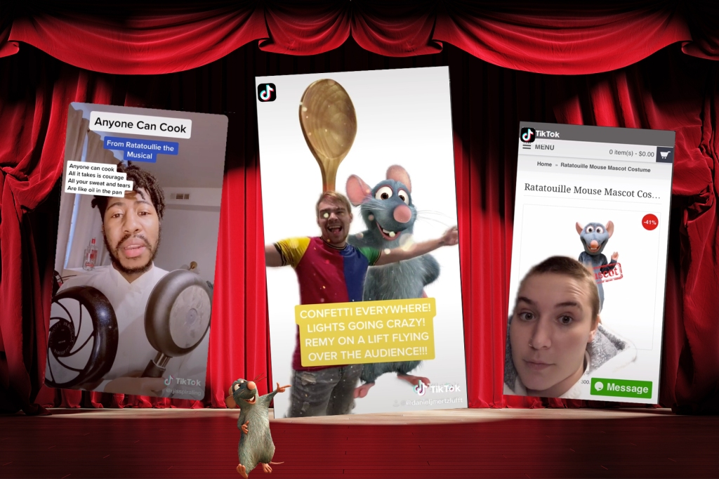 How Ratatouille The Musical Is Being Created On Tiktok Rolling Stone