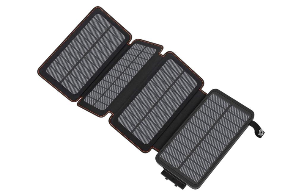 Hiluckey Portable Solar Power Bank