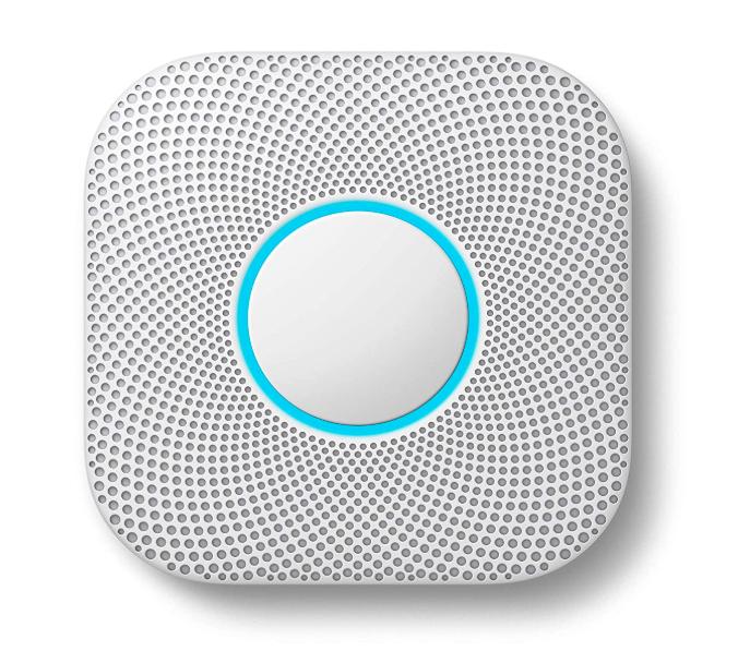 Google S3003LWES Nest Smart Smoke Alarm Sensor Alarm-Smoke Carbon Monoxide Detector