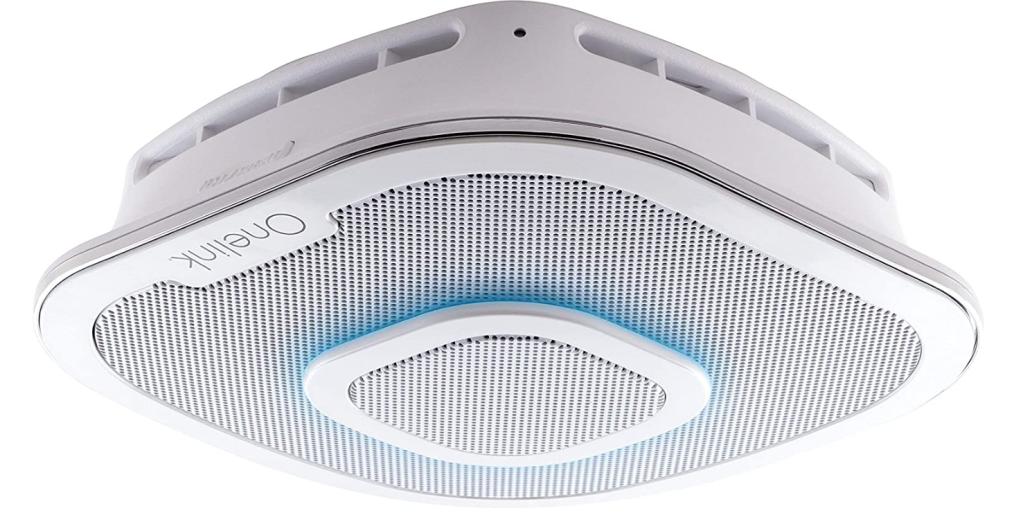 First Alert Alexa Enabled Smoke Detector and Carbon Monoxide Detector Alarm
