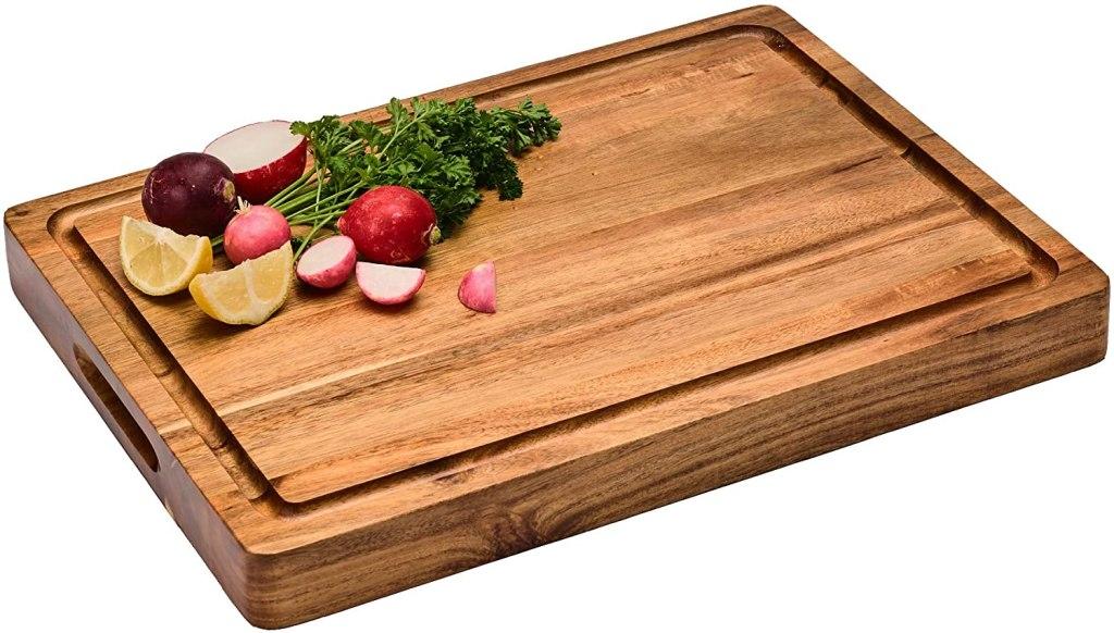 acacia multipurpose cutting board