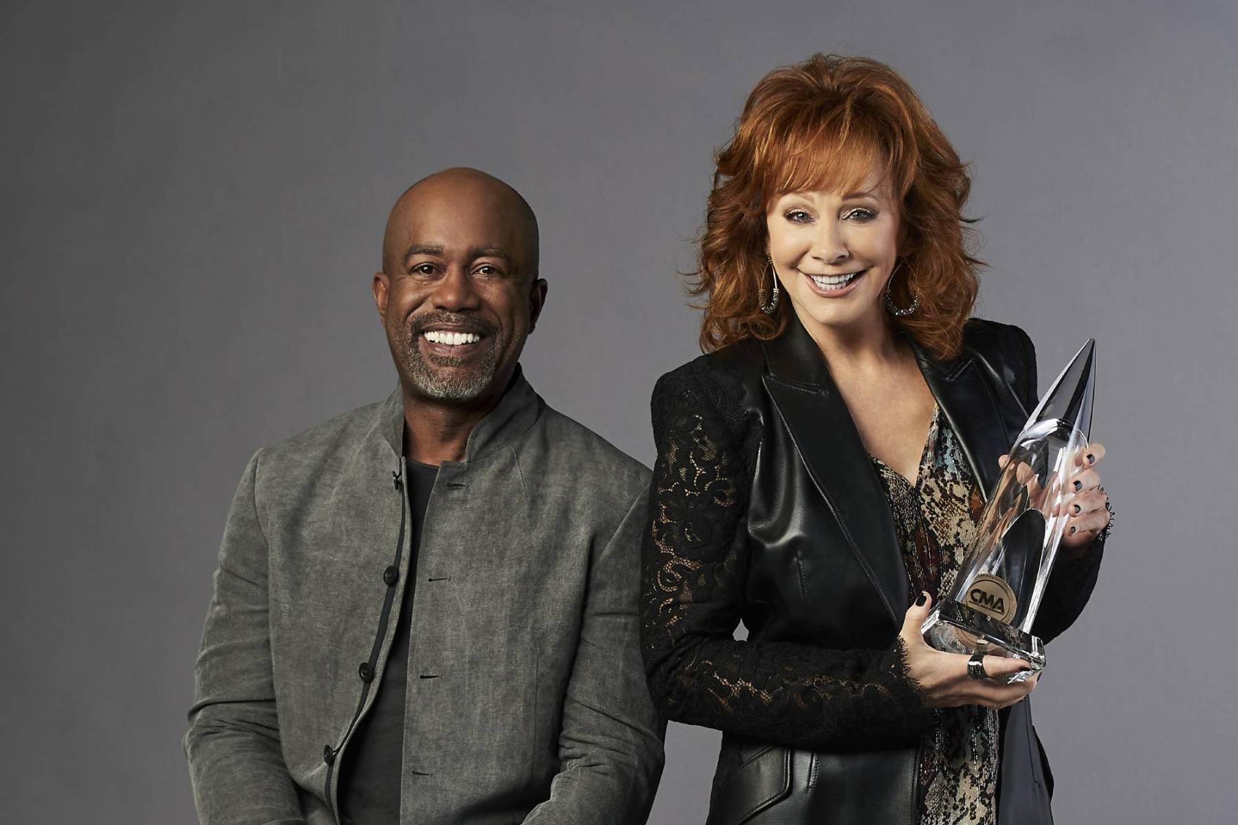 CMA Awards, Darius Rucker, Reba McEntire