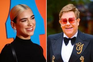 Elton John Joins Dua Lipa's Studio 2054 Livestream Special