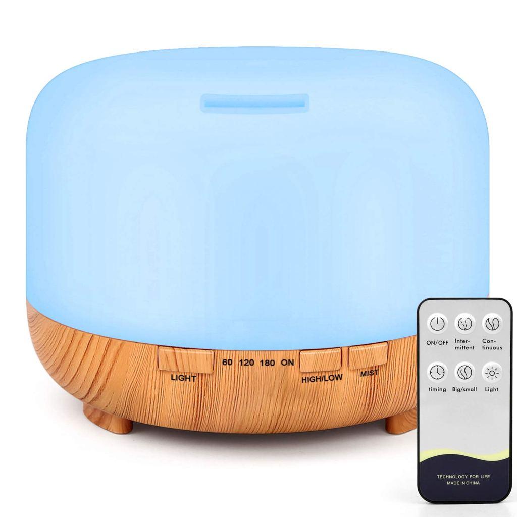 essential aromatherapy remote diffuser