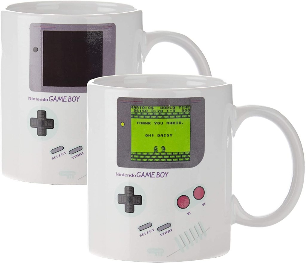 gameboy heat mug