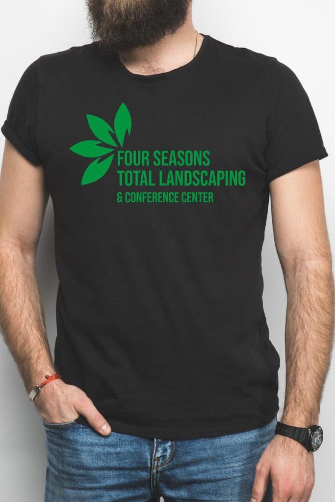 four seasons landscaping shirt