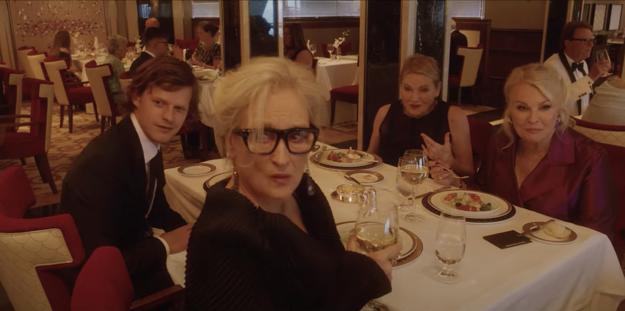 See Meryl Streep In First Trailer For Steven Soderbergh's 'Let Them All  Talk'   QNewsHub