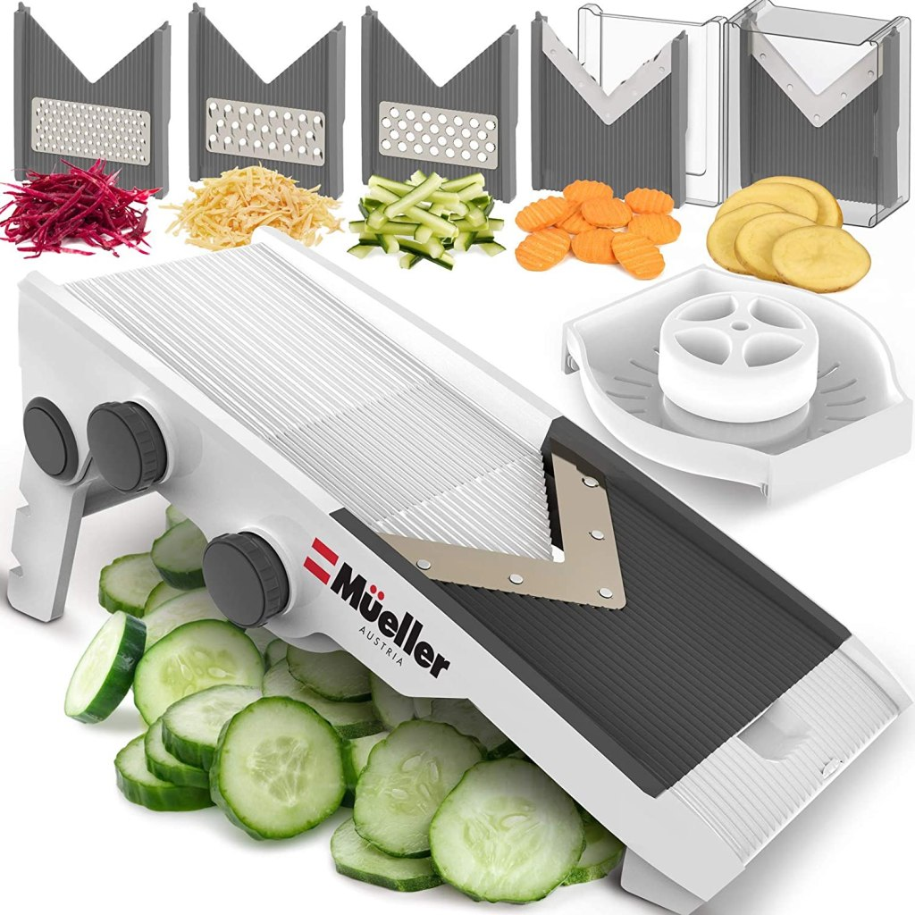mueller adjustable mandoline slicer