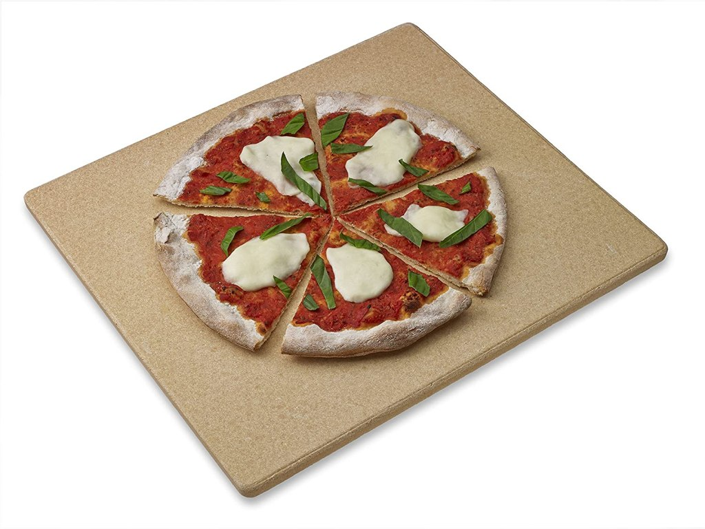 old stone oven pizza stone rectangular