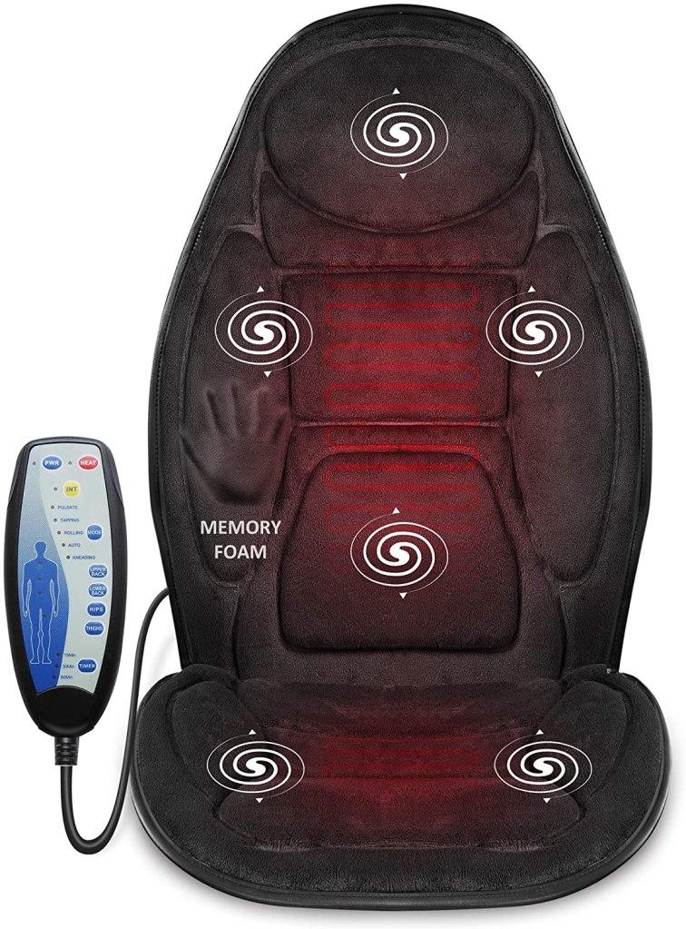 snailax memory foam massage cushion