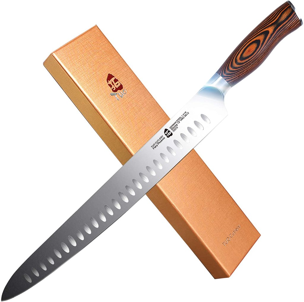 tuo 12 inch slicer knife