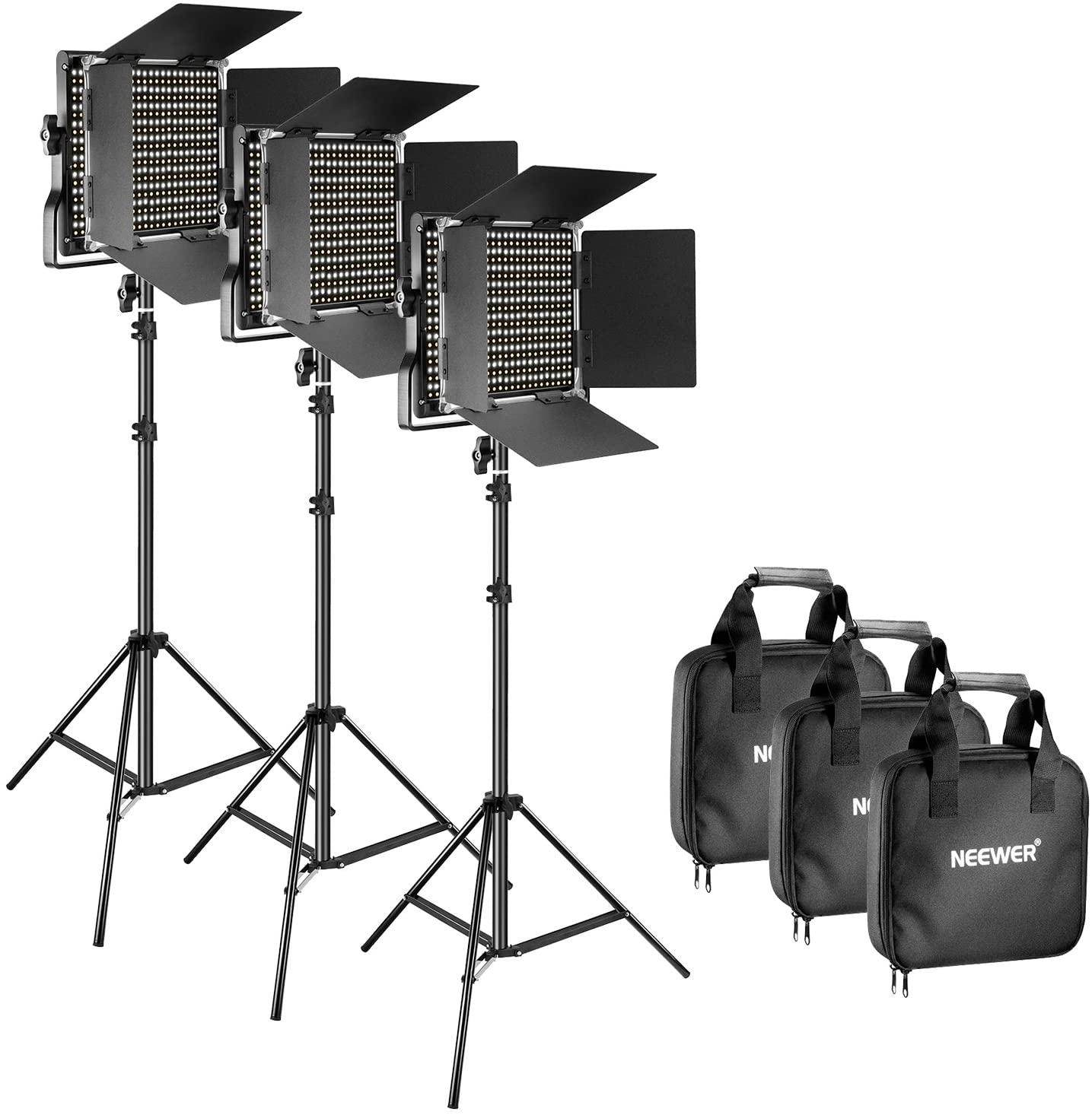 three point lighting kit