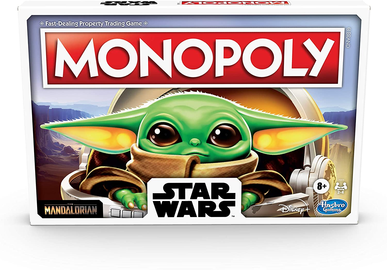 star wars monopoly mandalorian