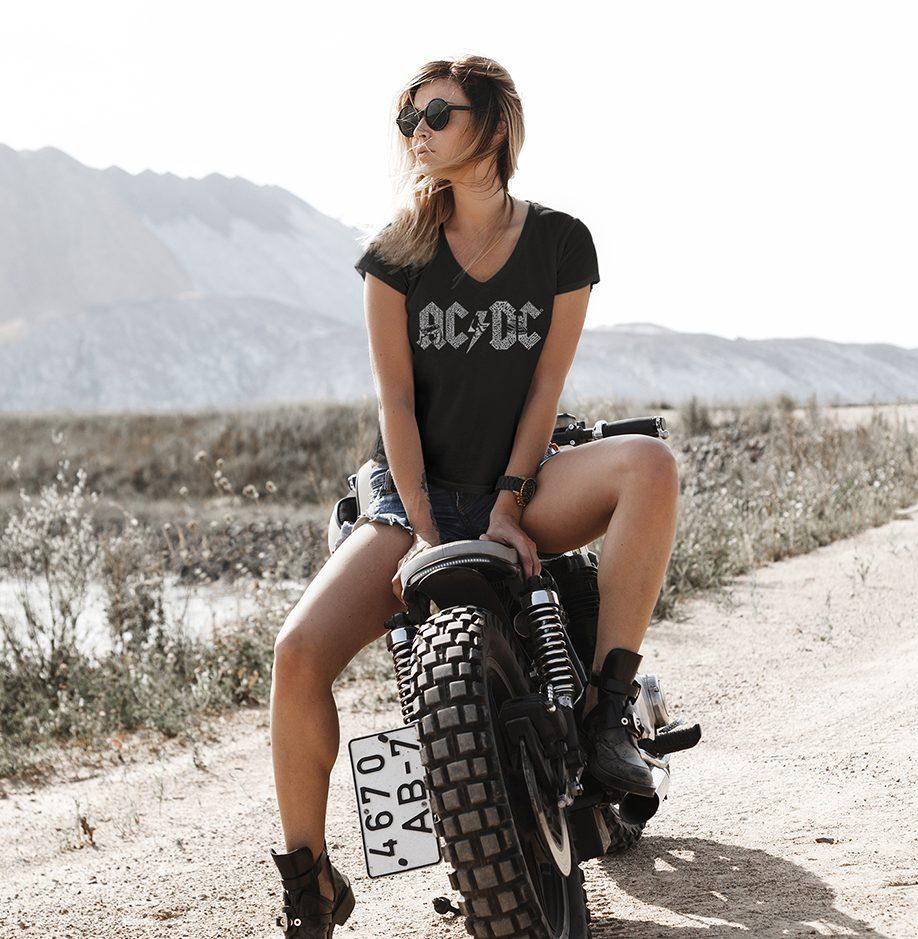 AC/DC Vneck