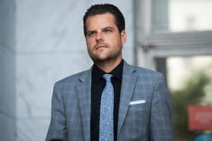Watch Gov. Murphy Go After Rep. 'Matt Putz' Gaetz for Superspreader Event