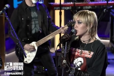 Miley Cyrus Belts Hole's 'Doll Parts' on 'The Howard Stern Show'