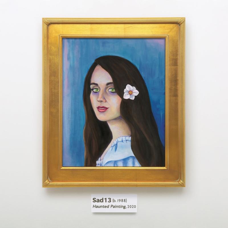 sad13 haunted painting