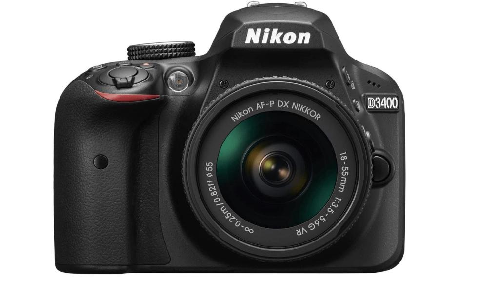 Nikon D3400 w/ AF-P DX NIKKOR 18-55mm f/3.5-5.6G VR (Black)