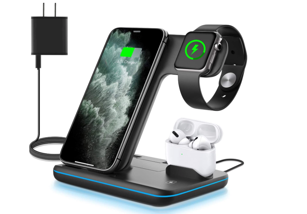WAITIEE Wireless Charger, 3 in 1