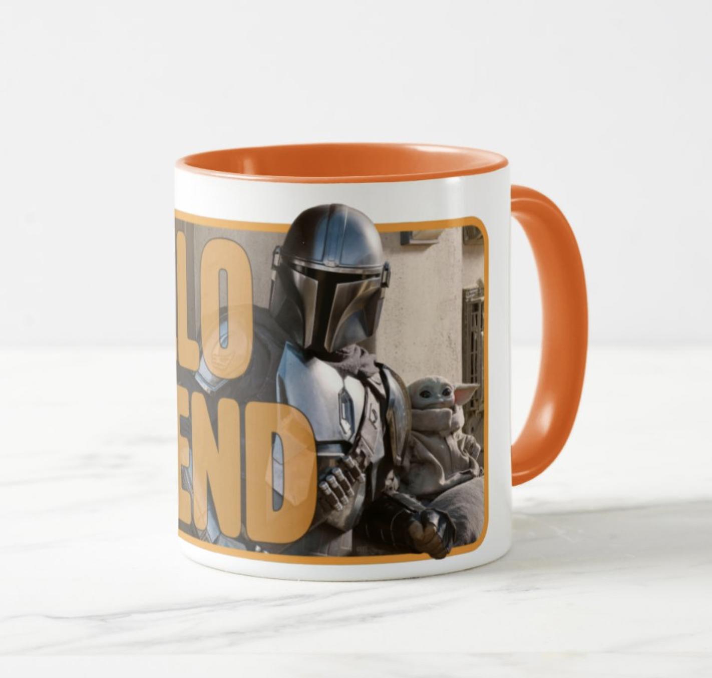 star wars mandalorian merch mug