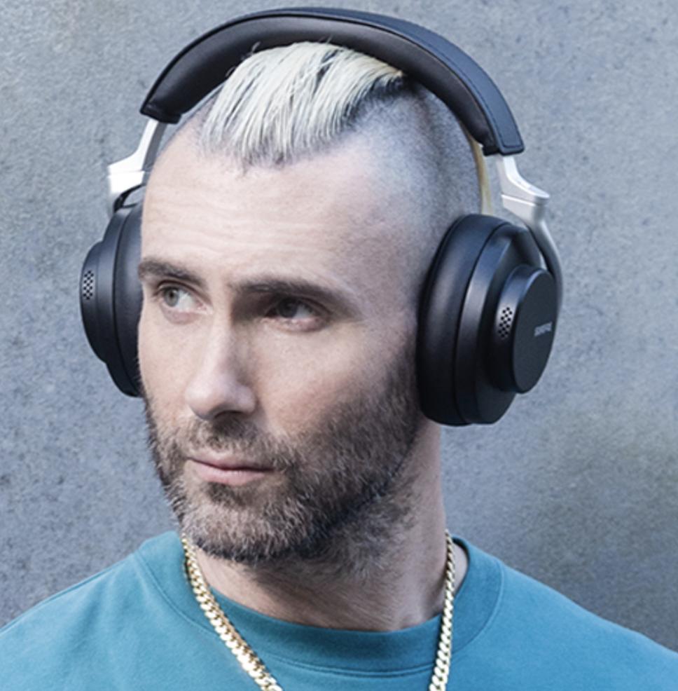 shure headphones adam levine