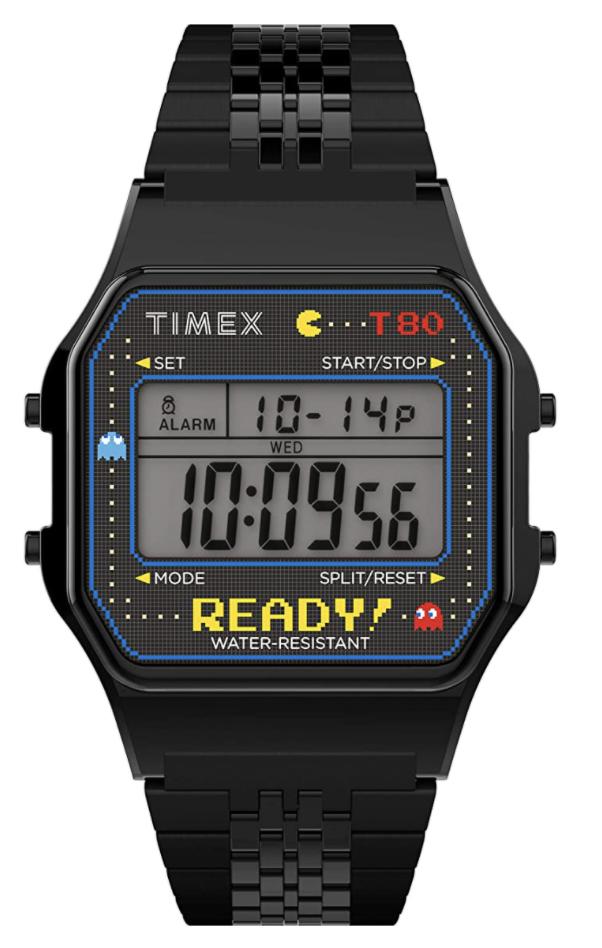 pac man watch timex